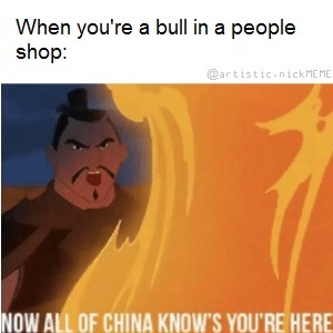 All of china - meme