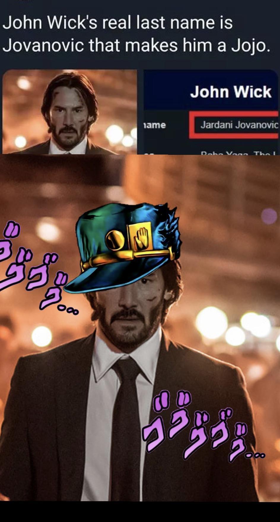 Is a jojo - meme
