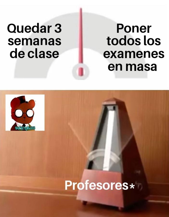 Disculpen por la ausencia, los estudios xD - meme