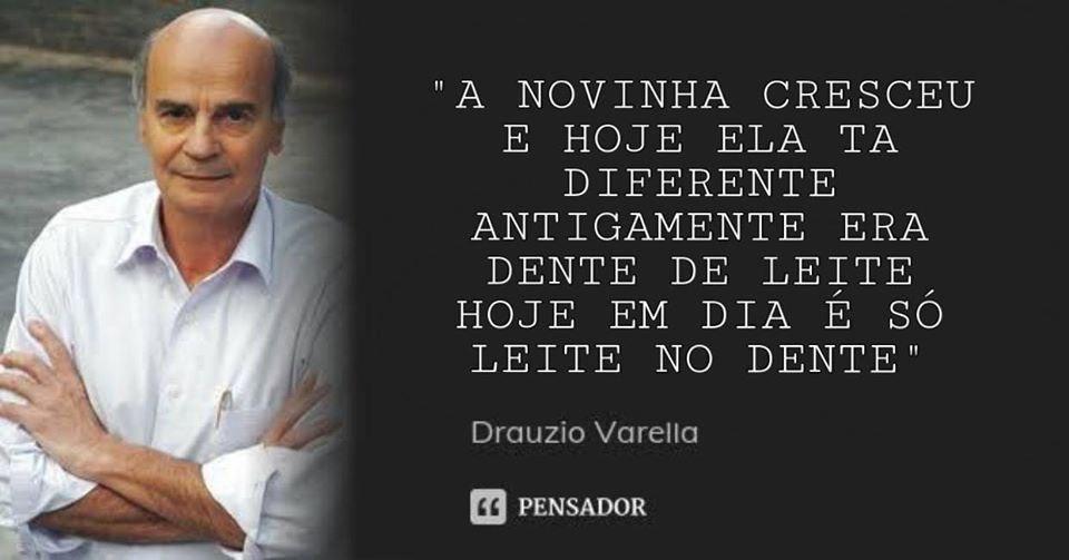 Fala seus doente - Drauzio Varella - meme