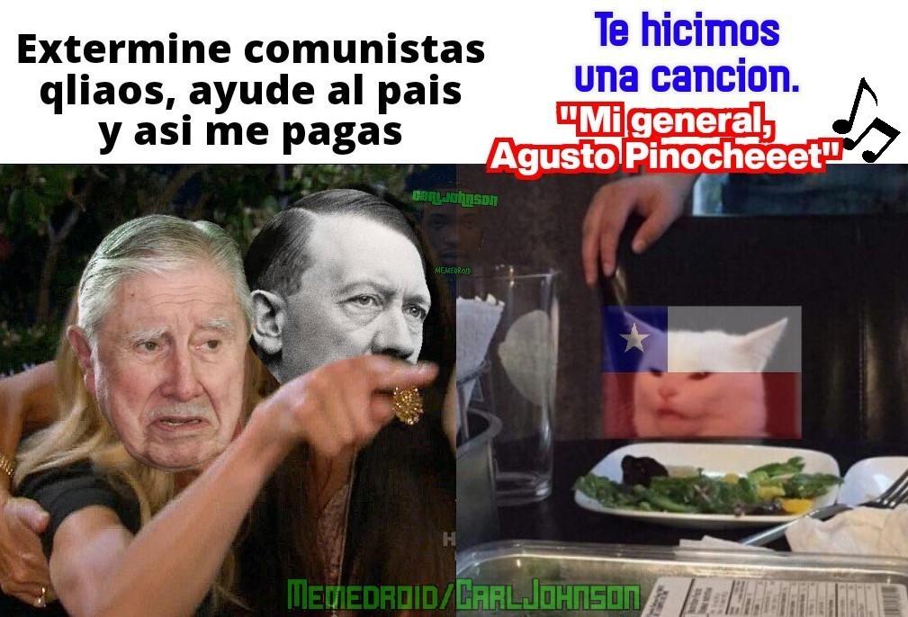 Mi general, agusto pinochet - meme
