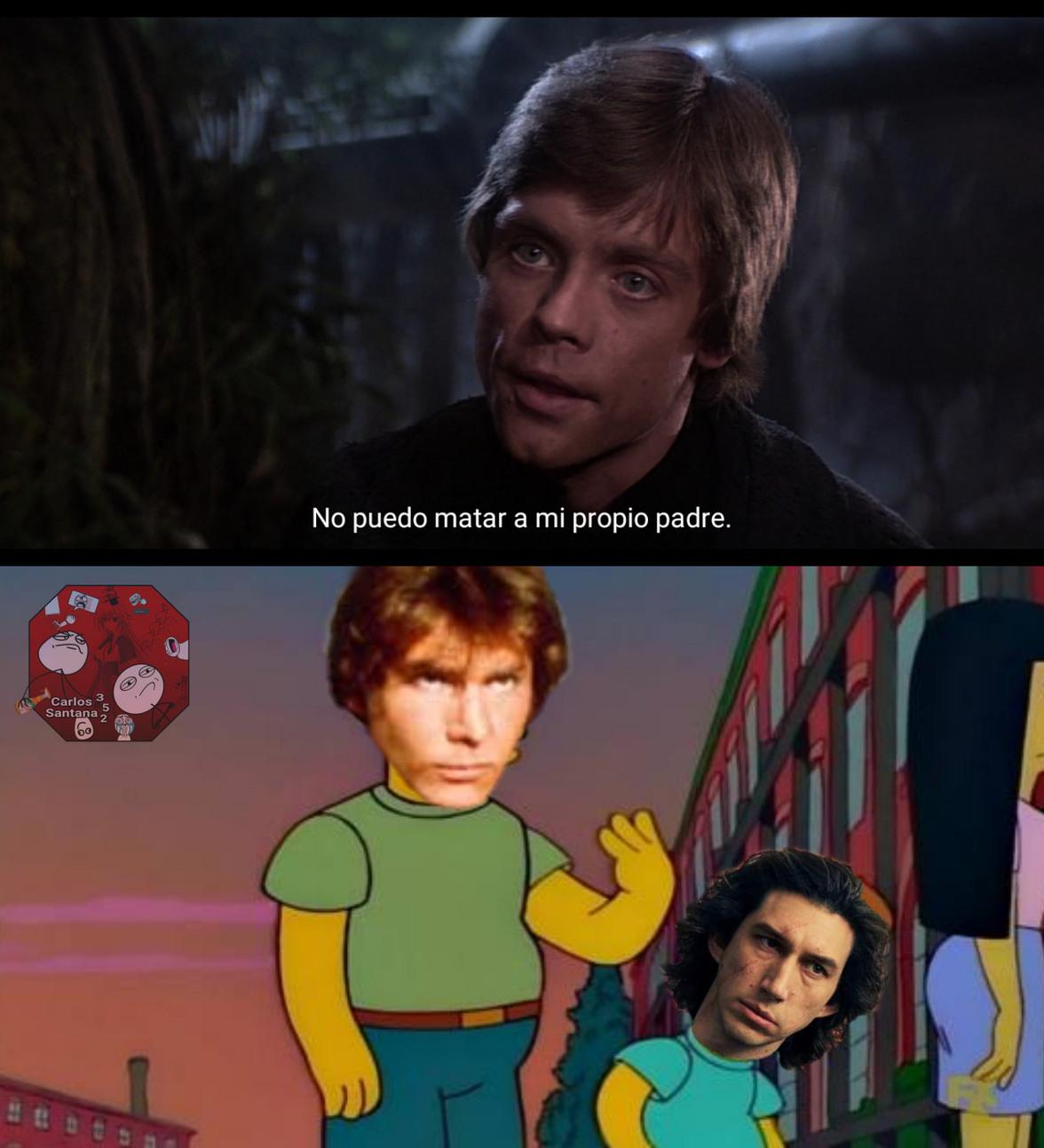 A ver, ¿Por qué no eres como Luke? - meme