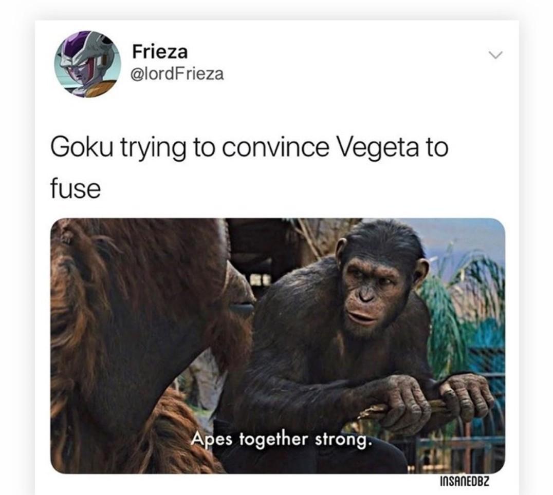 Dbz Origin - meme