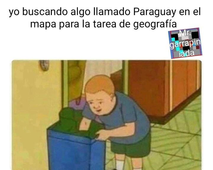 que será eso, paraguay??? - meme
