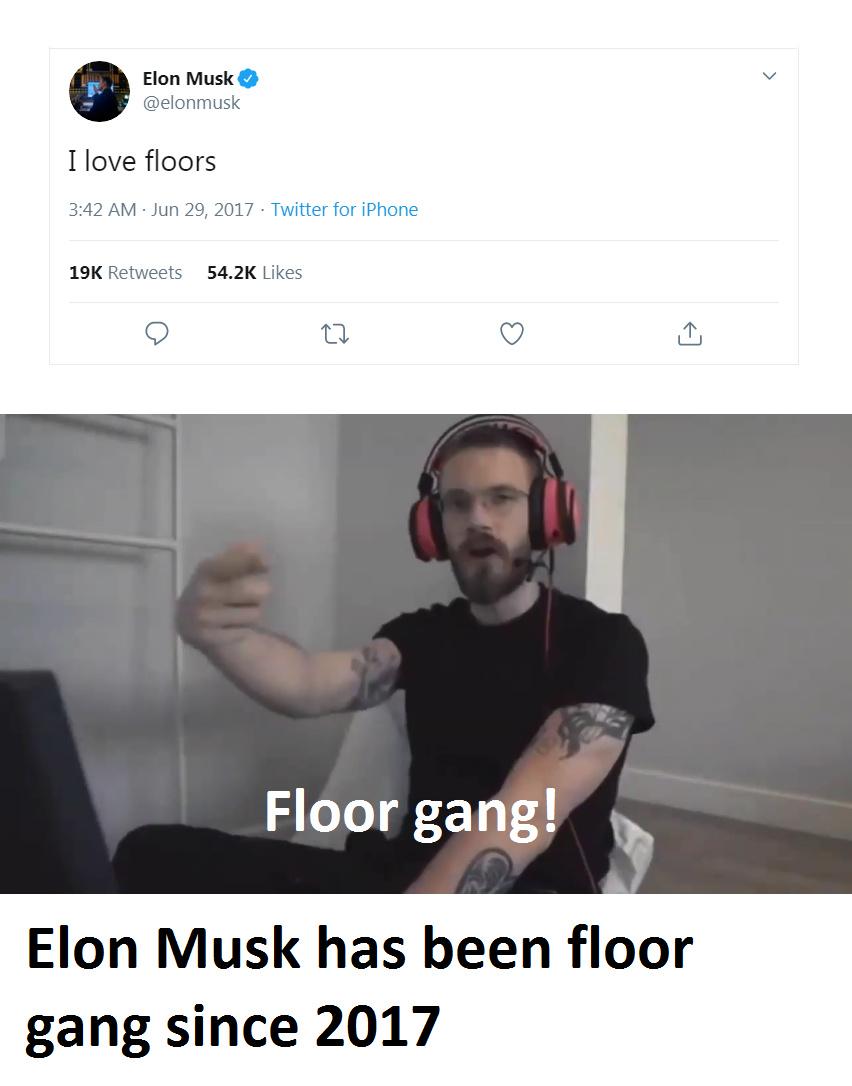 Floor gang - meme
