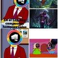 Riot con icono gay