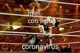 coronavirus vs miel y limon - meme