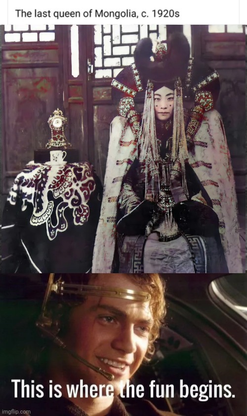 Now we know where star wars got costume idea from - meme