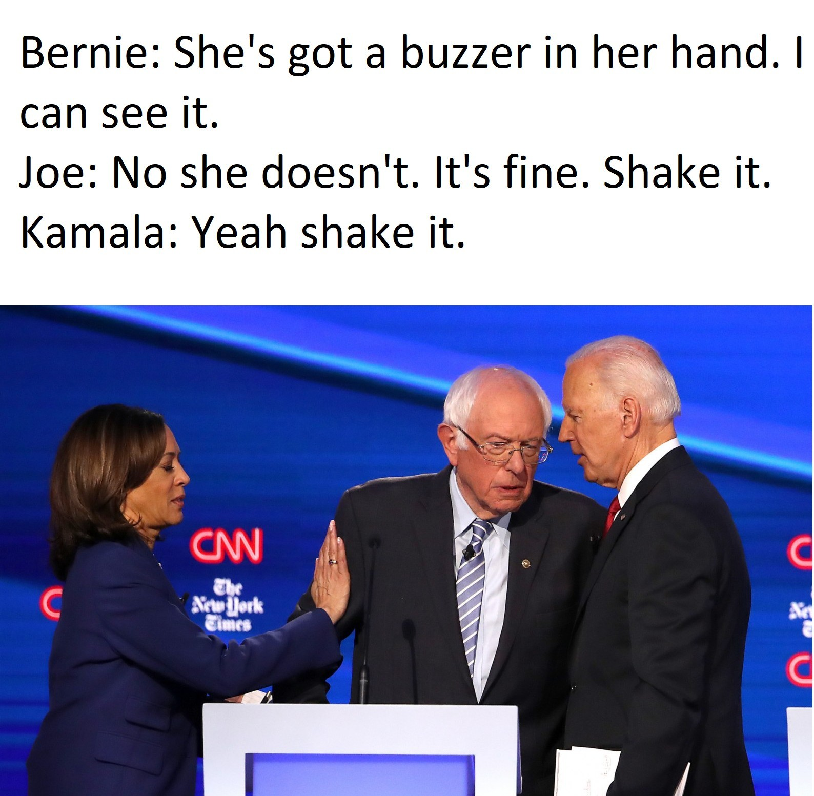 Kamala gonna bully em lmao - meme