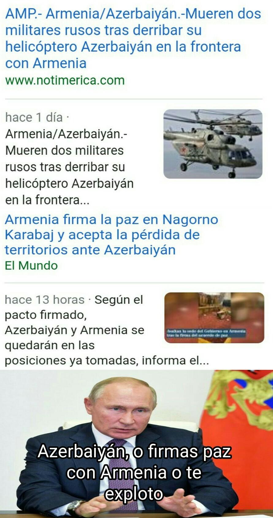 Perdió Armenia :( - meme
