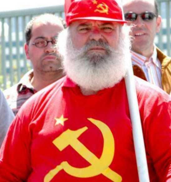 Santa comunista - meme