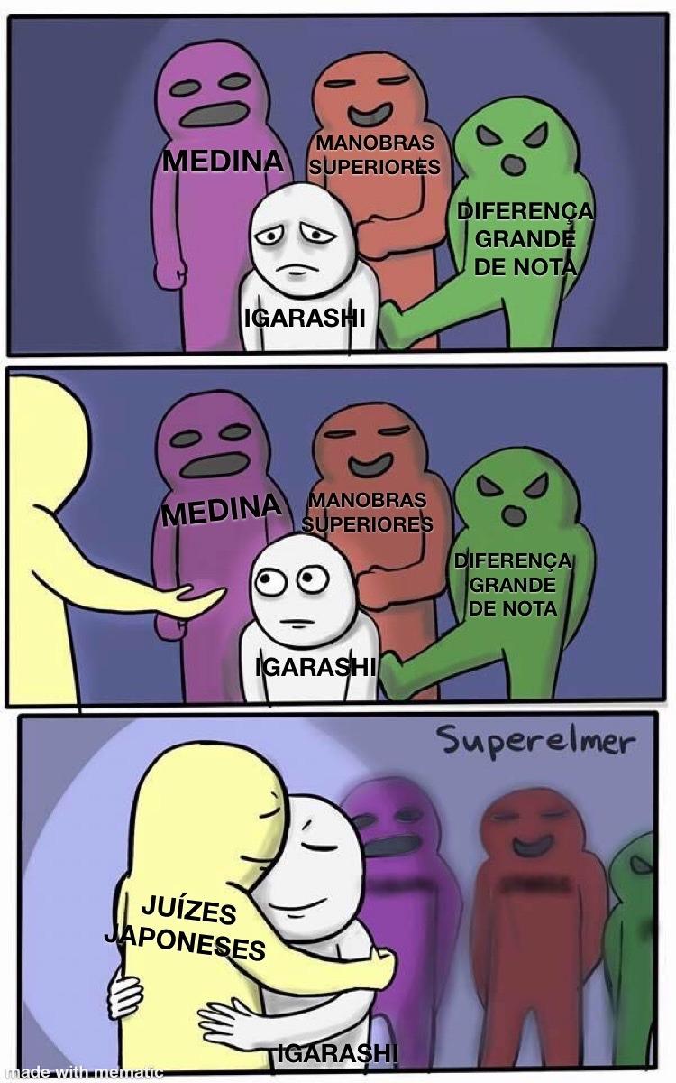 Olimpíada Justa - meme