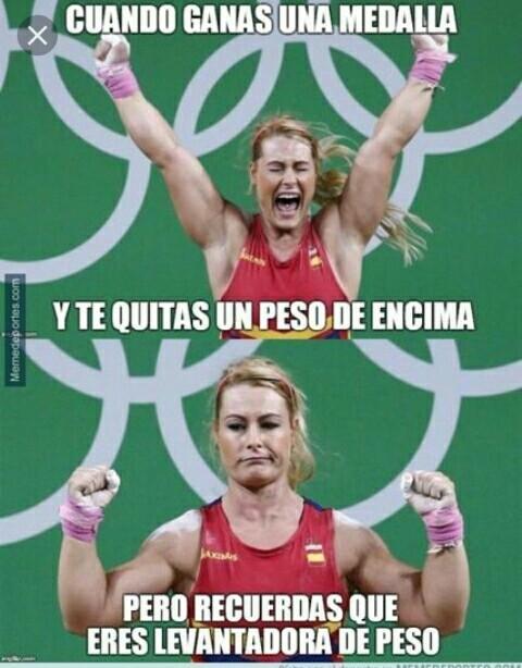 Lidia Valentín, campeona - meme