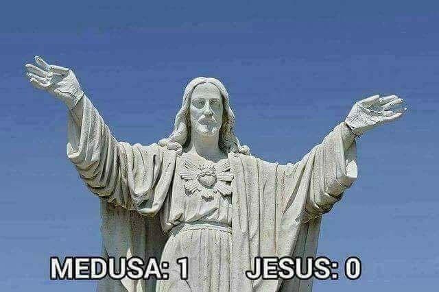 Jesus is stoned