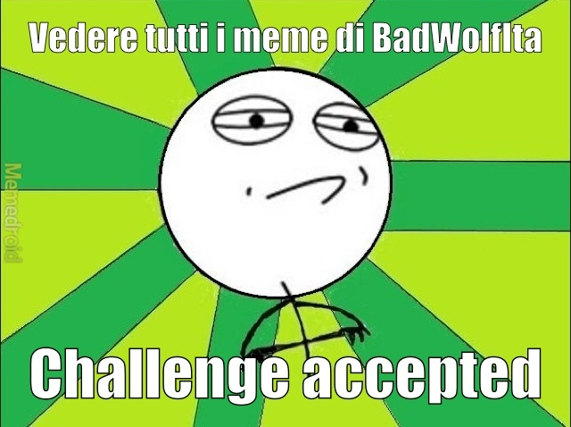 it's impossibile - meme