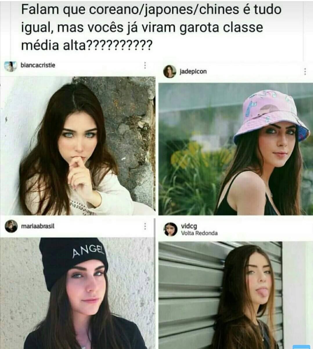 Identicas - meme