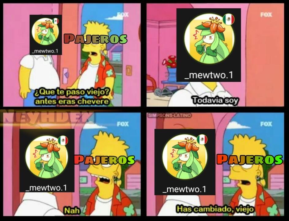 Lo de simpsons-latino es la marca de la plantilla solo :happy2:/ - meme