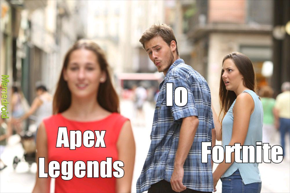 Fortnite o apex - meme
