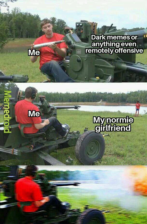 She's no longer my girlfriend now - meme
