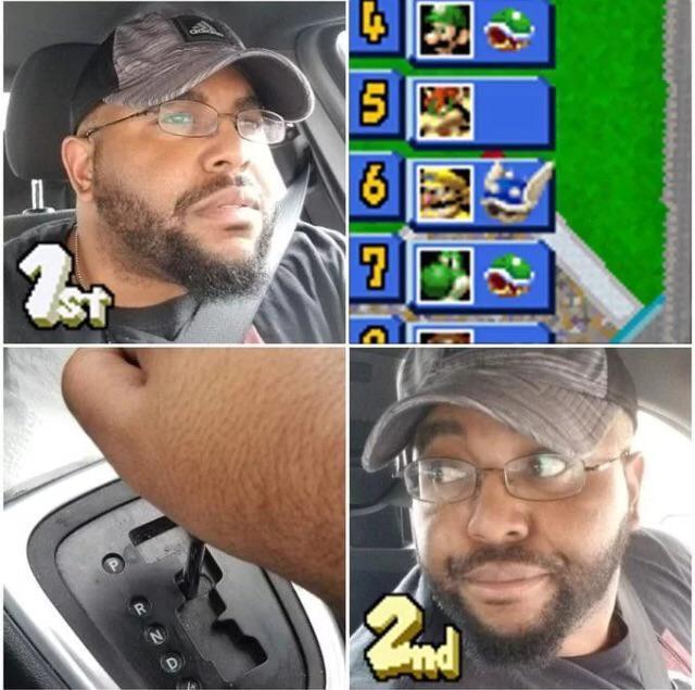 Mario kart !! - meme