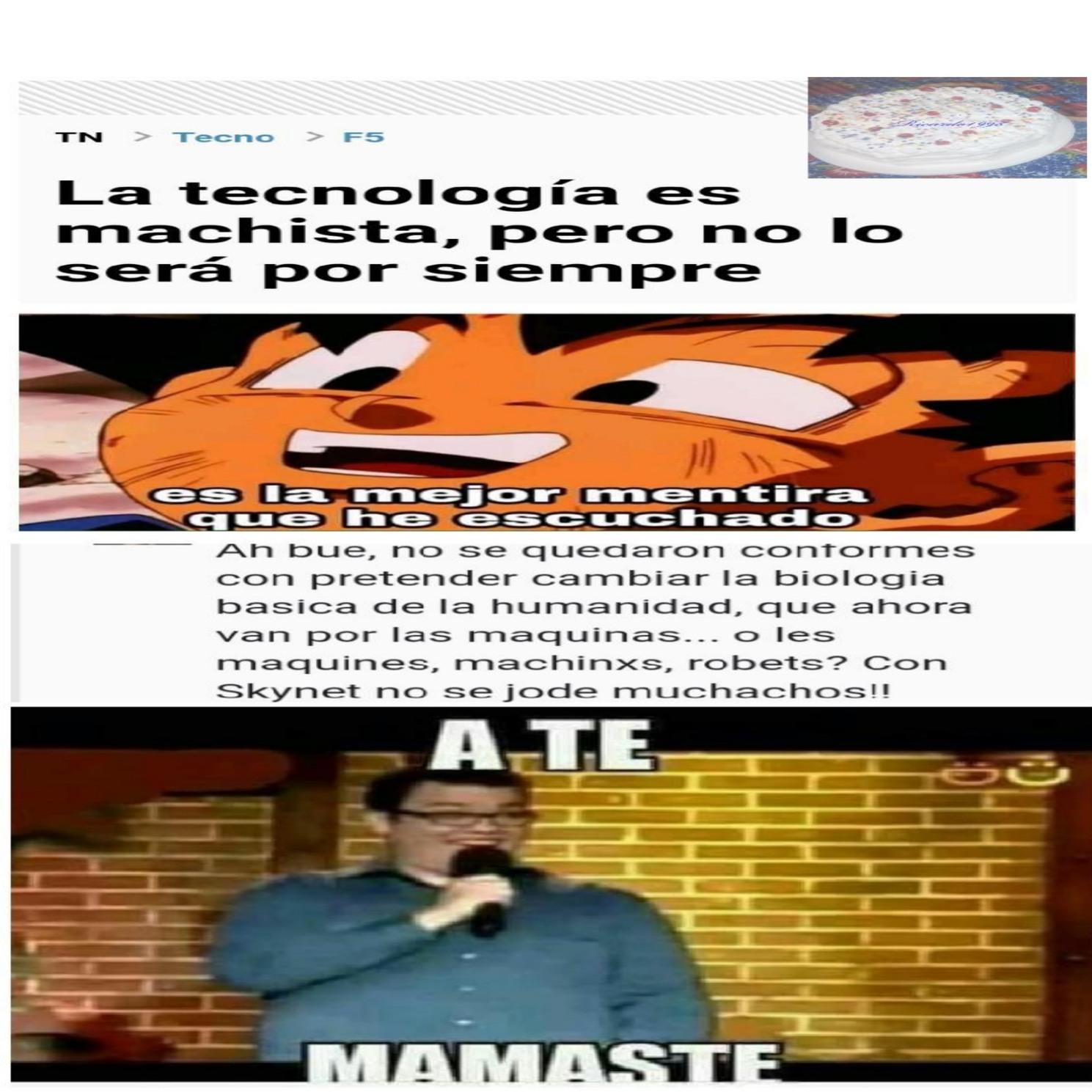 Al fin la razón de porque Skynet nos odia,no quiere contagiarse de nuestra estúpidez - meme