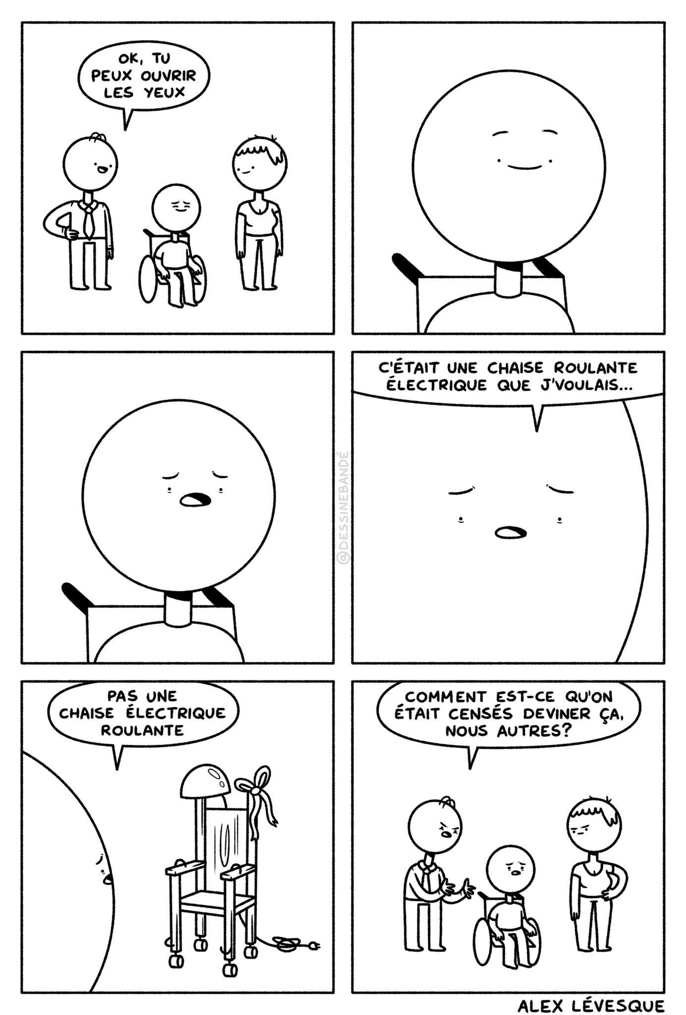 Toujours à se plaindre ces handicapés… - meme