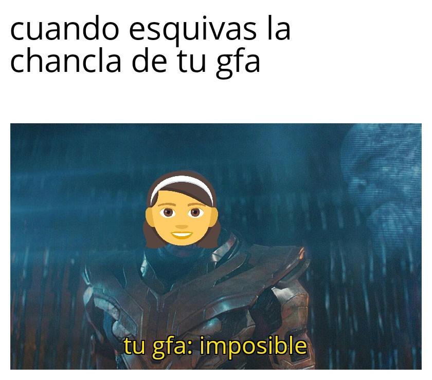 Imposble - meme