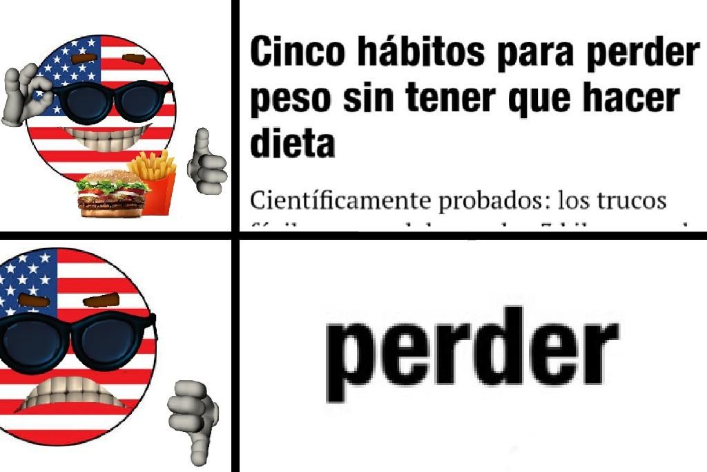 AMERICA NEVER LOSES - meme