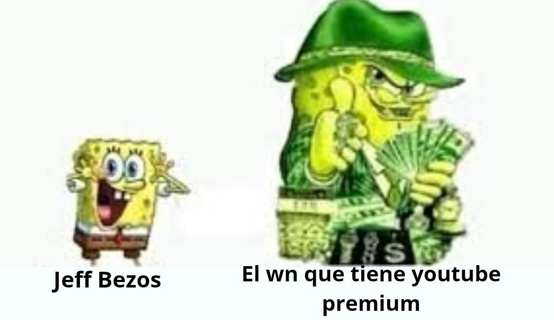 ese wn es billonario - meme
