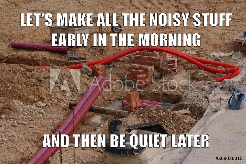 work at morning and sleep later - meme