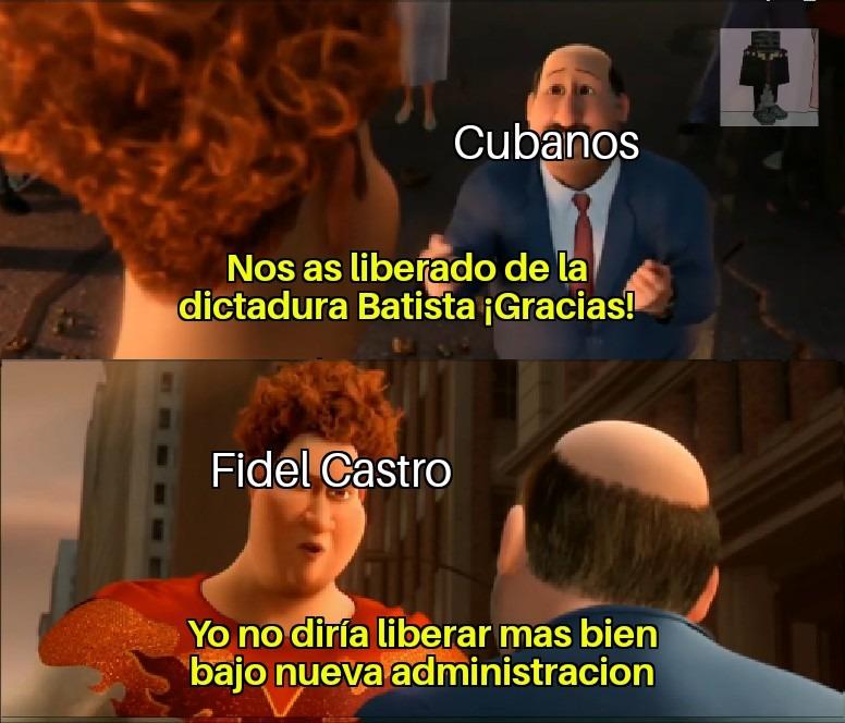 Comunistas, siempre aruinandolo todo - meme