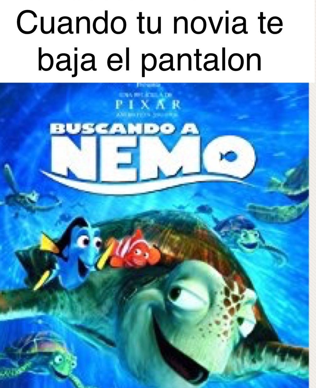 Buscando a Nemo - meme