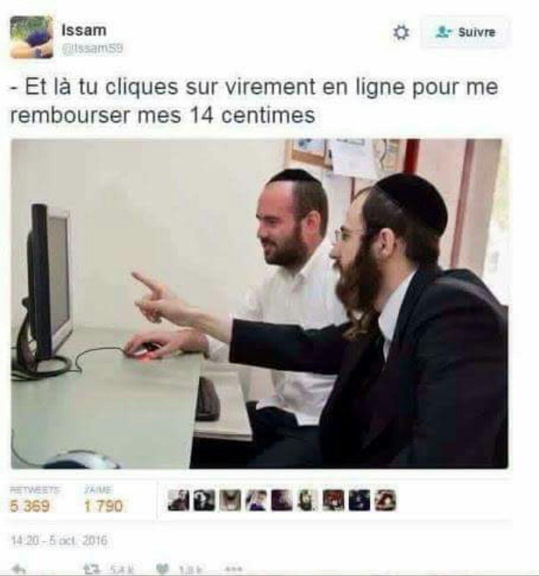 Les juifs entre potes - meme