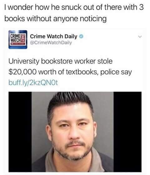 Books aint cheap - meme