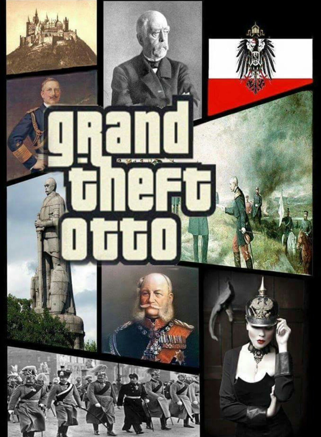 Otto von Bismarck, best prussian boye - meme