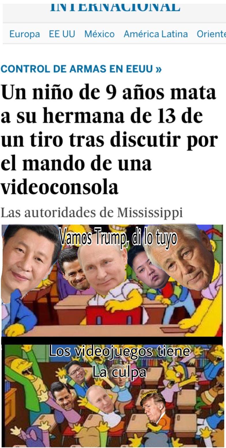 Vamos Trump, di lo tuyo - meme