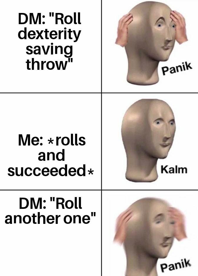 Everytime, DnD! - meme