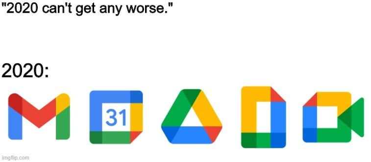 gmail is so disgusting now - meme
