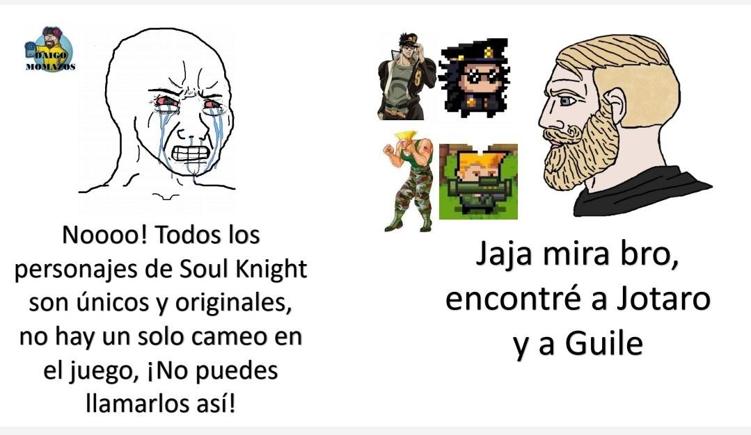 Lo sabía: Soul Knight tiene cameos ocultos - meme