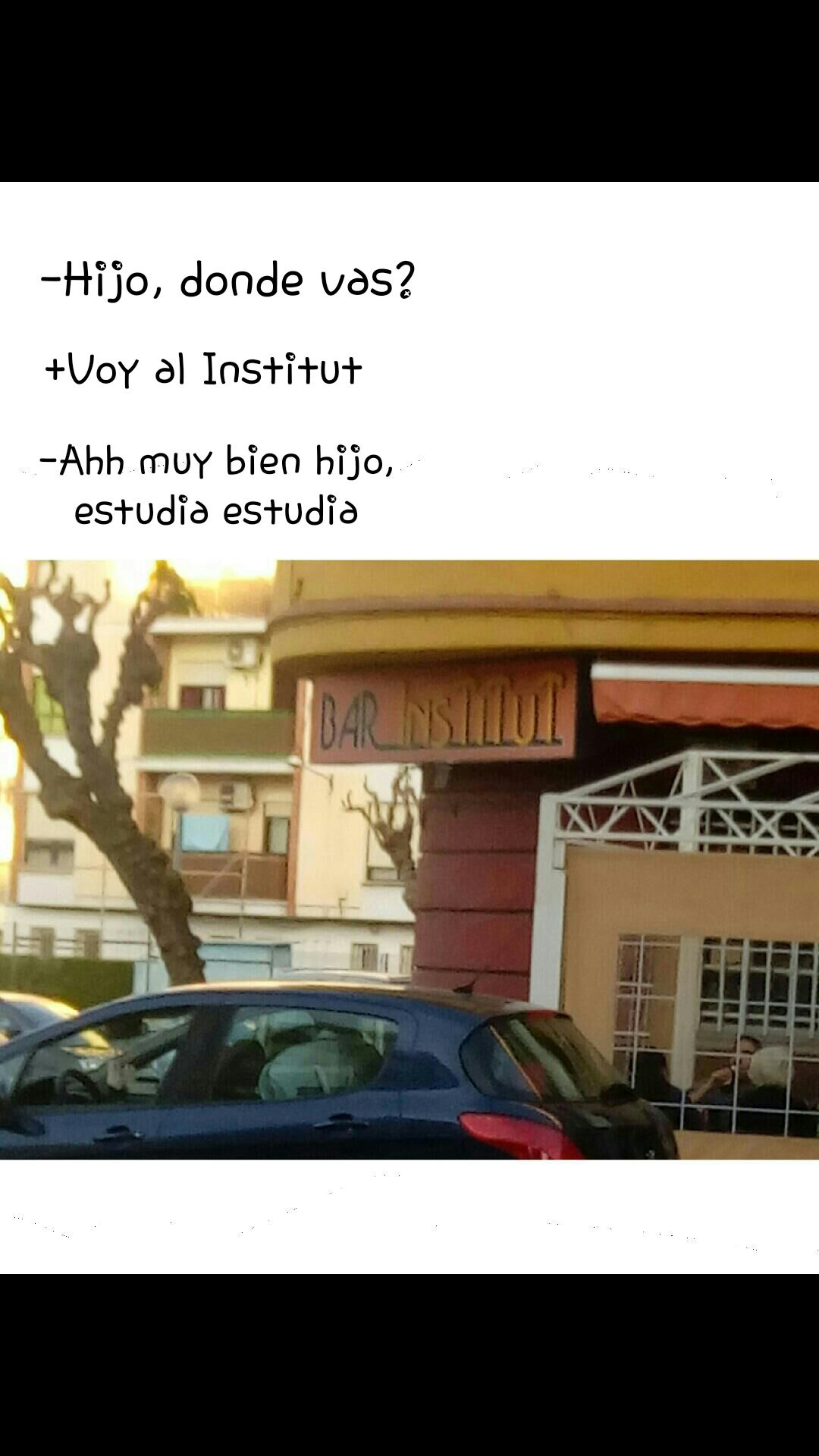 Institut (instituto) - meme