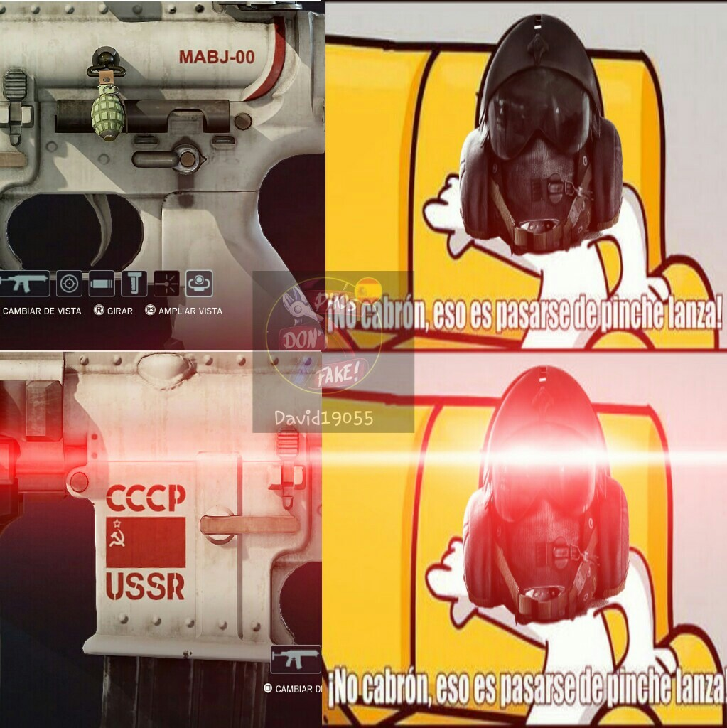 El título se fué a atacar a la URSS - meme