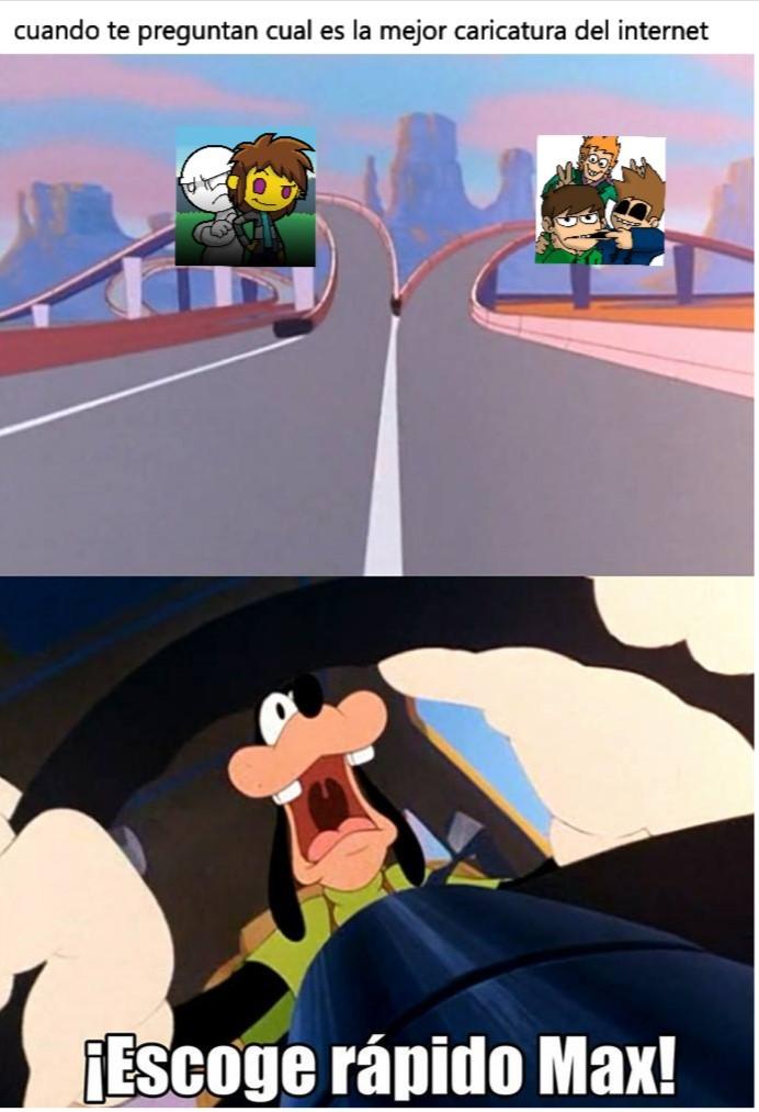 las mejores caricaturas - meme