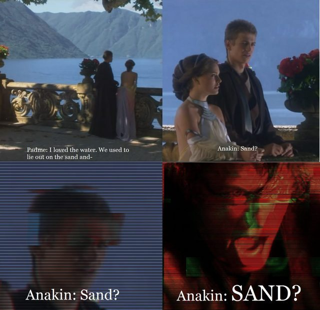 I don't like sand... - meme
