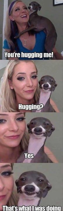 Hugging ( ͡° ͜ʖ ͡°) - meme