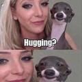 Hugging ( ͡° ͜ʖ ͡°)