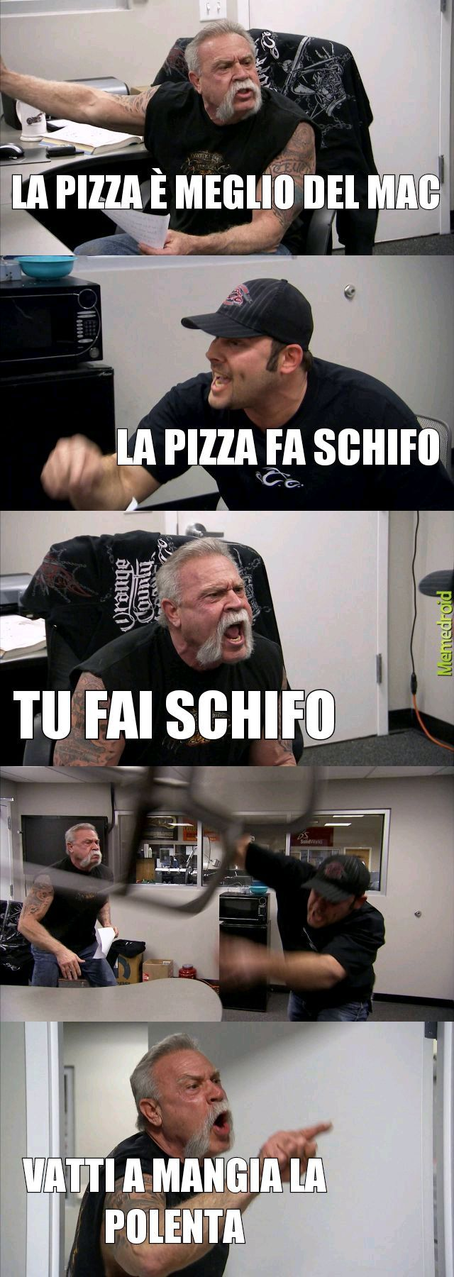 PIZZA VS MAC DONALD - meme