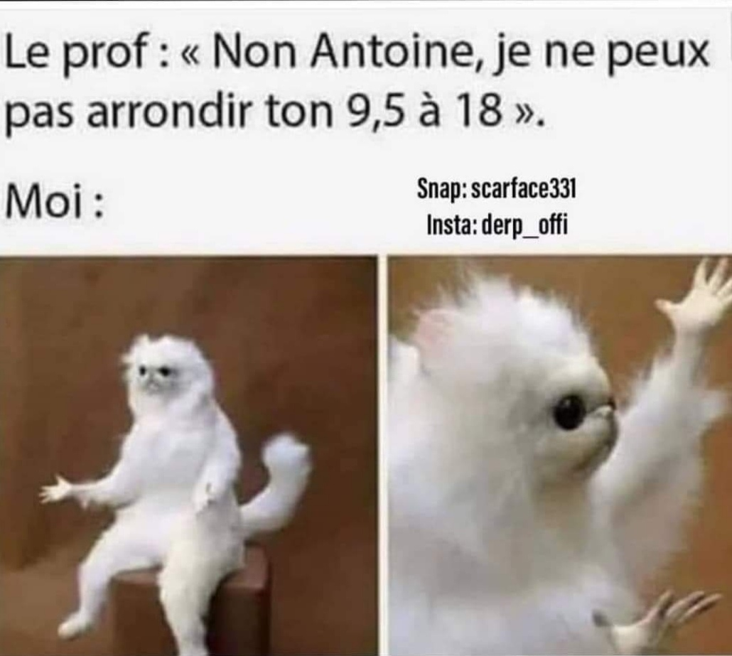 Non Antoine ! - meme