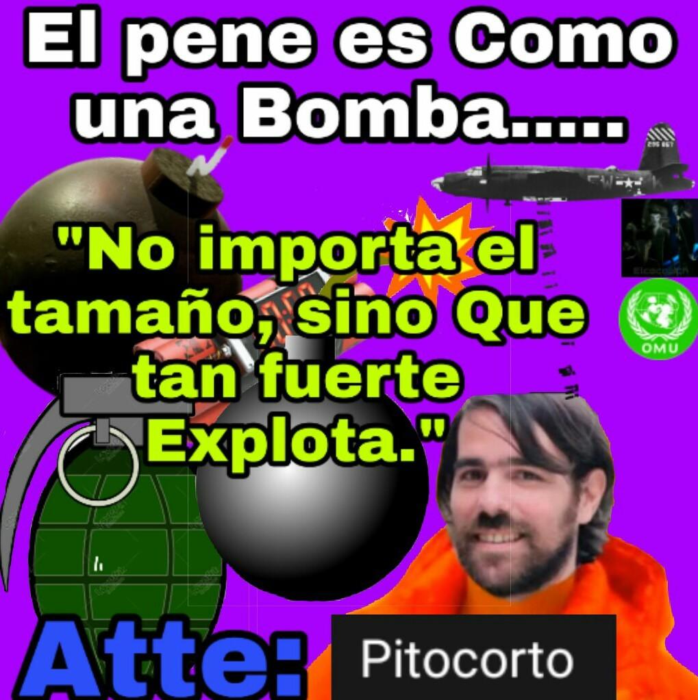 Unanse a mi grupo de whatssap, el que se una le doy una Bomba:3 - meme