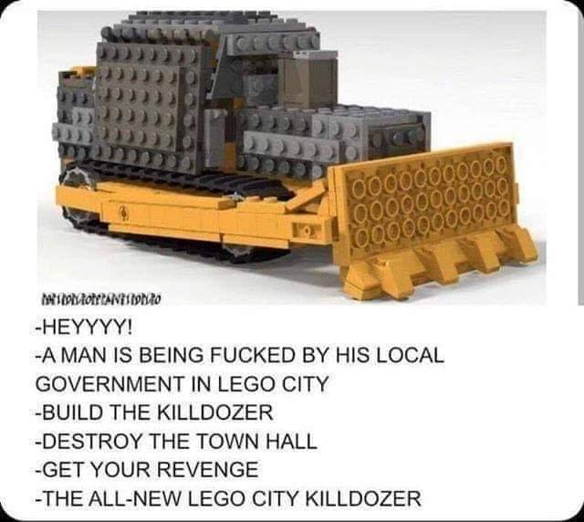 Lego Killdozer - meme