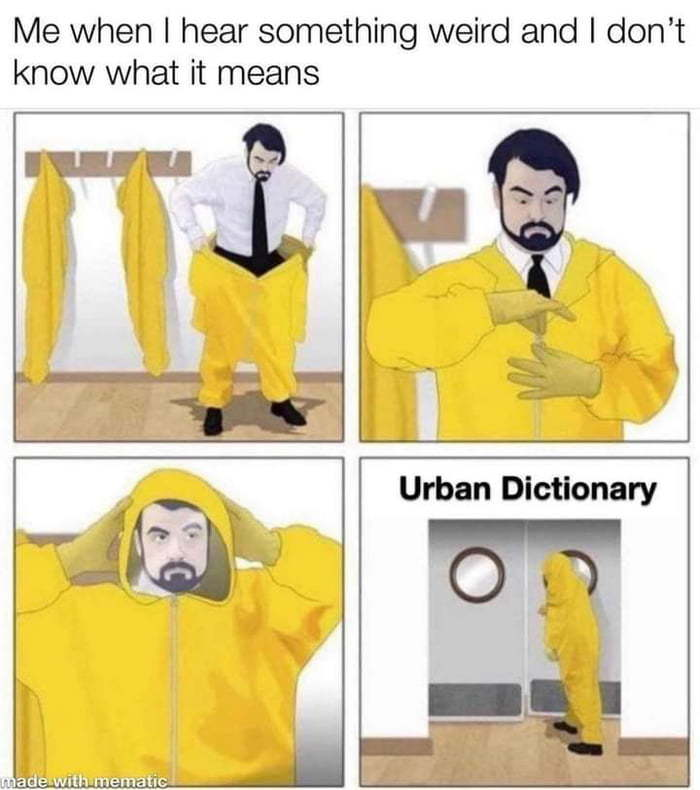 le Urban Dictionary - meme